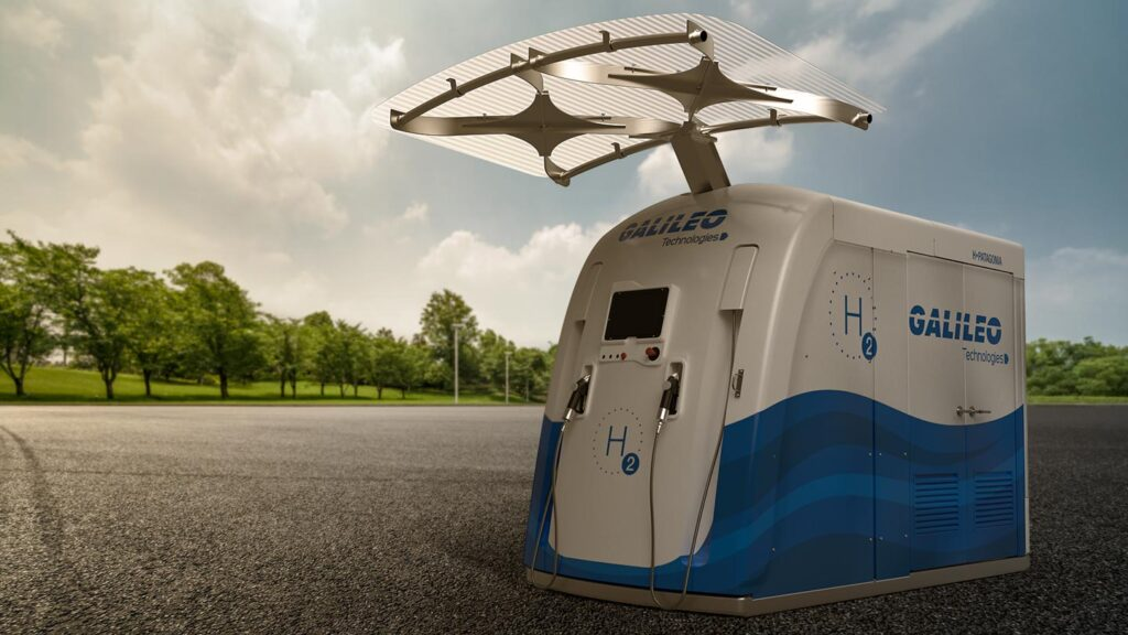 Galileo Technologies introduces compact hydrogen fueling stations
