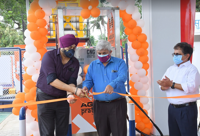 AG&P Pratham opens the first two CNG stations in Alappuzha