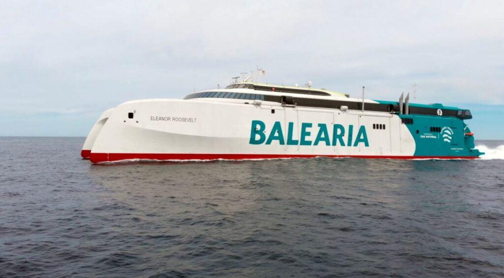 Baleària empezará a operar el fast ferry más innovador y sostenible del Mediterráneo